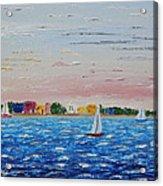 Sailing Takes Me Away Acrylic Print