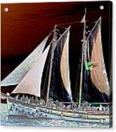 Sailing In Hope Acrylic Print