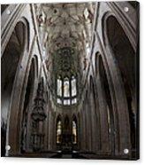 Saint Barbara Church Kutna Hora Acrylic Print