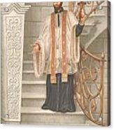 Saint Francis Xavier Acrylic Print by John Alan  Warford