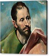 Saint James The Younger Acrylic Print