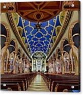 Saint Michael Church Acrylic Print by Susan Candelario