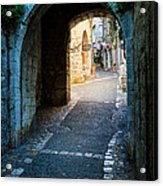 Saint Paul Entrance Acrylic Print