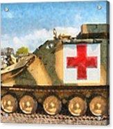 Samaritan Ambulance Acrylic Print