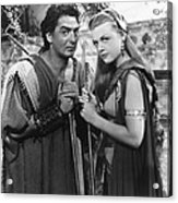 Samson And Delilah, From Left Victor Acrylic Print