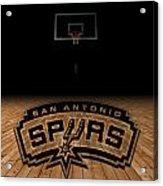 San Antonio Spurs Acrylic Print by Joe Hamilton