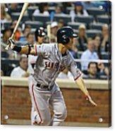 San Francisco Giants V New York Mets Acrylic Print
