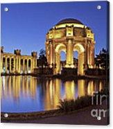 San Francisco Palace Of Fine Arts Theatre Acrylic Print
