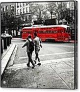 San Francisco Tram Acrylic Print