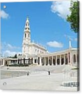 Sanctuary Of Fatima Acrylic Print