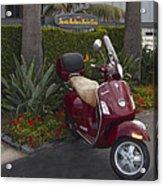 Santa Barbara Yacht Club Vespar Acrylic Print