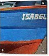 Santa Rosalia Harbor 12 Acrylic Print