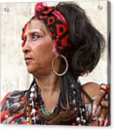 Santeria Woman Acrylic Print