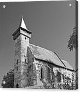 Santimbru Reformed Church Acrylic Print