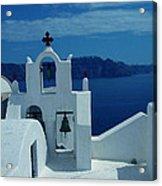 Santorini  Island Greece  Acrylic Print