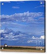 Saskatchewan Farmland Acrylic Print by Mark Newman