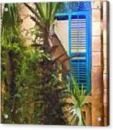 Savannah Window Impasto Acrylic Print