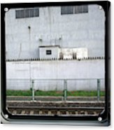 Scene From A Train In Chinas Southern Acrylic Print