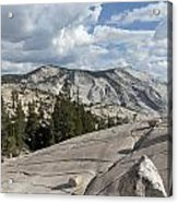 Scenic View In Yosemite National Park Acrylic Print