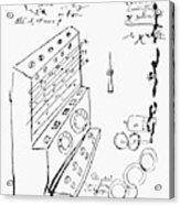 Schickard Calculator Acrylic Print