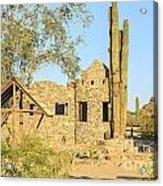Scorpion Gulch Phoenix Arizona Acrylic Print