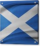 Scottish Flag Acrylic Print