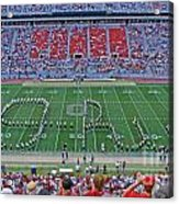 27w115 Script Ohio In Osu Stadium Acrylic Print