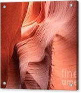 Sea Of Sandstone Acrylic Print