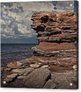 Sea Stack At North Cape On Prince Edward Island Acrylic Print