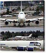 Seahawks 747 Acrylic Print