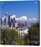 Seattle City View Acrylic Print