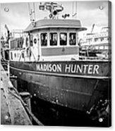 Seattle Fisherman Wharf Acrylic Print