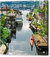 Seattle Houseboats Acrylic Print