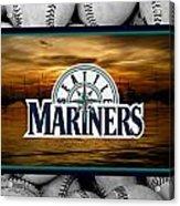 Seattle Mariners Acrylic Print by Joe Hamilton