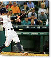 Seattle Mariners V Houston Astros Acrylic Print
