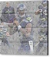Seattle Seahawks Team Acrylic Print