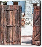 Secret Courtyard Acrylic Print
