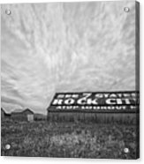 See Rock City - Farm In Tennessee Acrylic Print