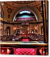 Senate Chamber Acrylic Print