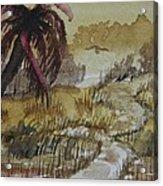 Sepia Sunrise Acrylic Print