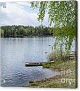 Serene Lake View Acrylic Print