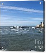Sestri Levante With The Sea Acrylic Print