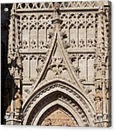 Seville Cathedral Ornamentation Acrylic Print