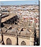 Seville Cityscape Acrylic Print