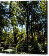 Seville - Park Maria Luisa Acrylic Print
