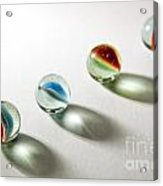 Shadowed Marbles Acrylic Print