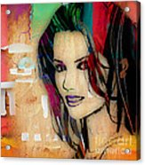 Shania Twain Collection Acrylic Print