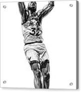 Shaq Slam Acrylic Print