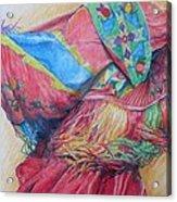 Shawl Dancer Acrylic Print