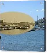 Shaw's Wharf At Sakonnet Point In Little Compton Rhode Island Acrylic Print